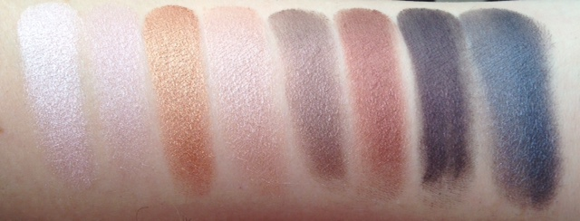 ebblog LORAC PRO review swatches 2