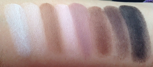 ebblog LORAC PRO swatched and review
