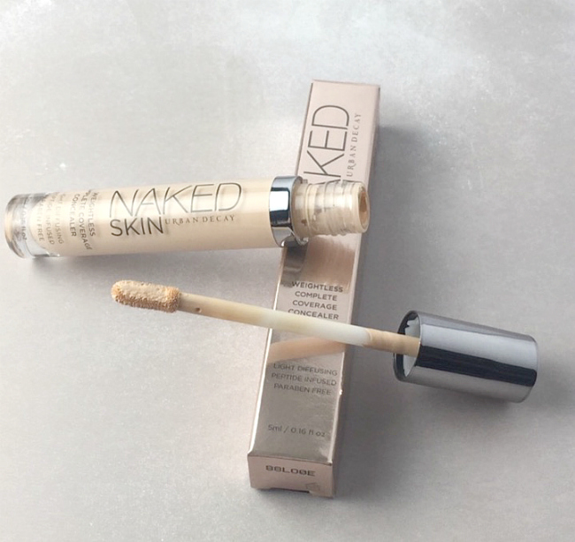 urban decay naked skin concealer