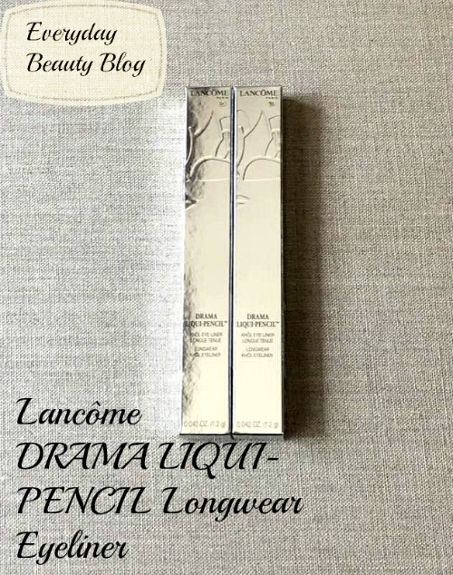 lancome drama liquid-pencil longer eyeliner review everyday beauty blog